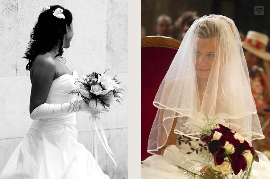 mariees et bouquets